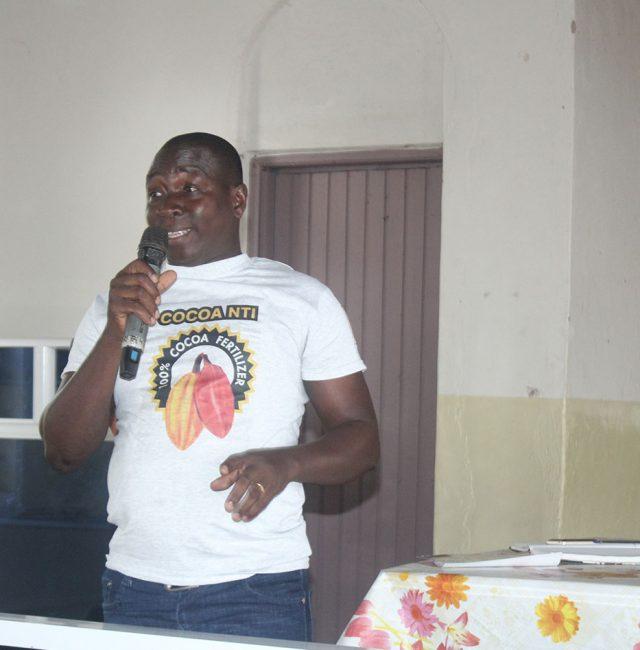 Cocoa Nti campaign