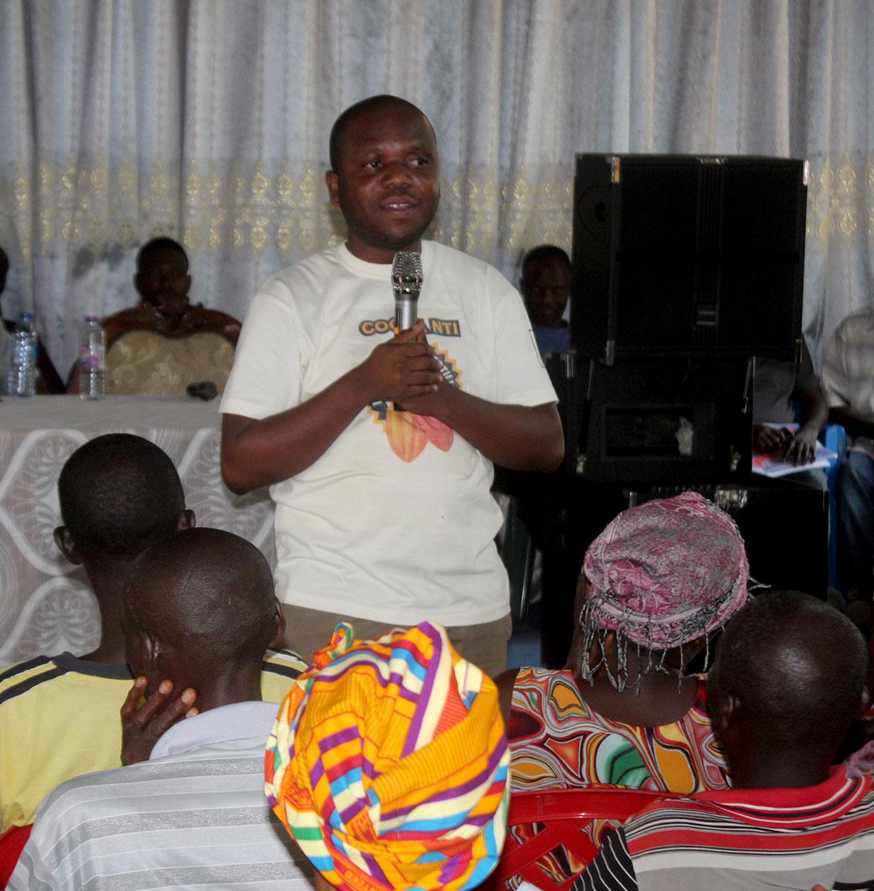 Cocoa Nti Campaign at Gambia No. 1