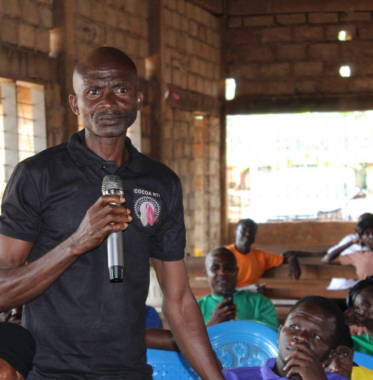 Cocoa Nti Campaign at Akrodie